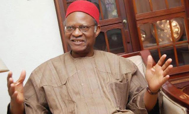 Anyaoku backs Nigeria's restructuring (DETAILS)