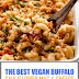 The Best Vegan Buffalo Cauliflower Mac & Cheese
