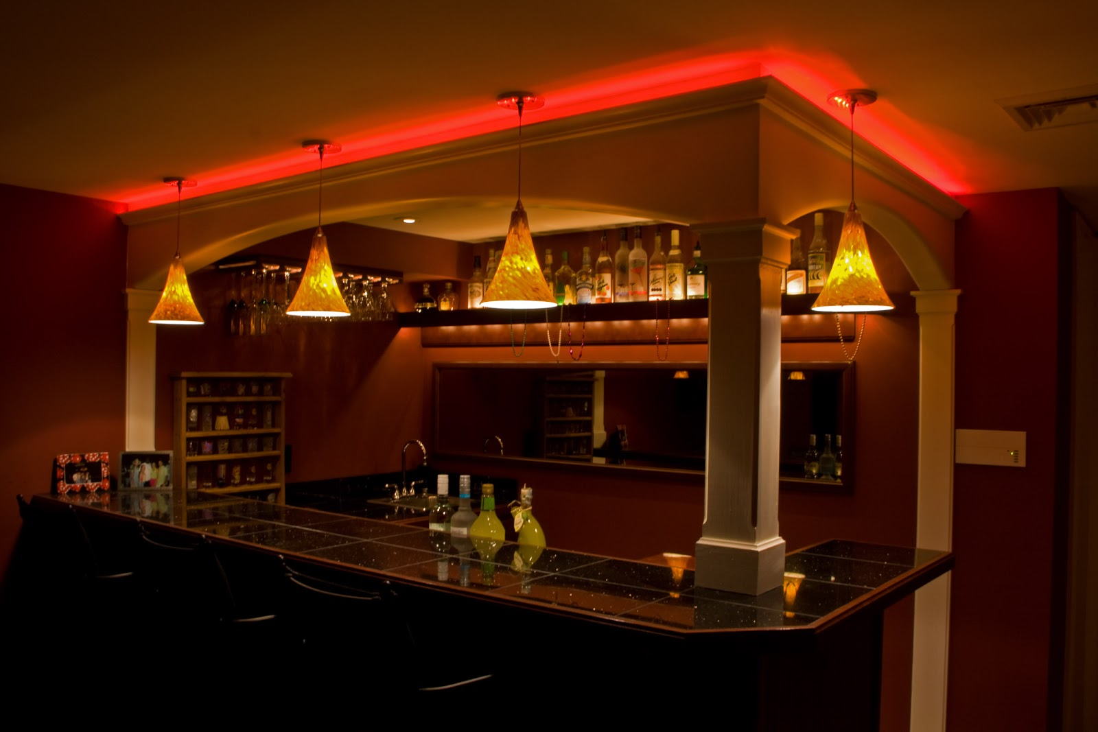 Bag Zebra Pictures Bar Lighting