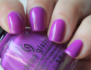 China Glaze Electric Nights Violet-Vibes
