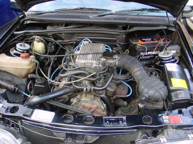 Cologne V6 2.8 EFI на форд сиерра