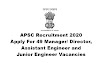 APSC Recruitment 2020: Apply For 49 Manager/ Director, Assistant Engineer and Junior Engineer Vacancies. Last Date: 31.07.2020