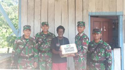 Satgas Raider 300 Menjaga Silahturahmi dan Kedekatan Dengan Masyarakat