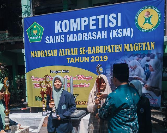 Mengejutkan, MA Darul Ulum Rejomulyo Raih Juara 3 KSM 2019