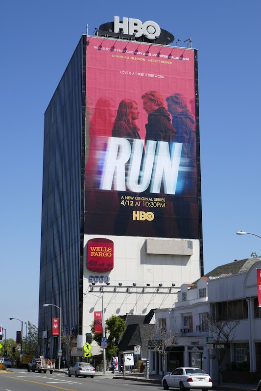Giant Run series launch billboard
