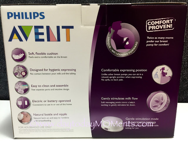 philips avent pump