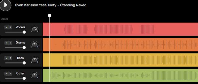 موقع مجاني لفصل صوت المغني عن الموسيقى اونلاين للاندرويد و الايفون
