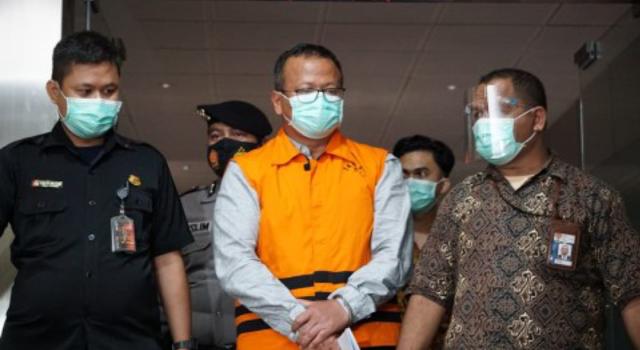 KPK Tetapkan Edhy Prabowo Tersangka Suap Izin Ekspor Benih Lobster