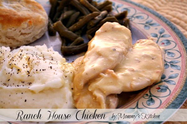 Mommy S Kitchen Recipes From My Texas Kitchen Ranch House Crock Pot Chicken