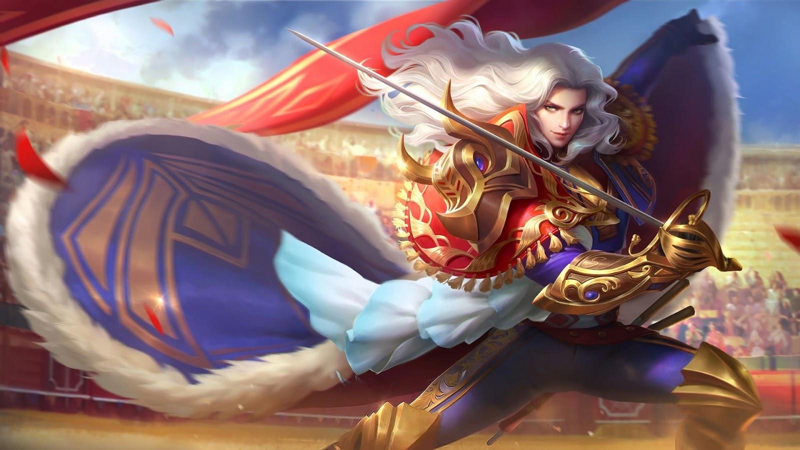 Wallpaper Lancelot Royal Matador Skin Mobile Legends HD for PC