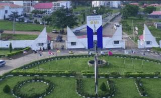 oduduwa university entrance gate