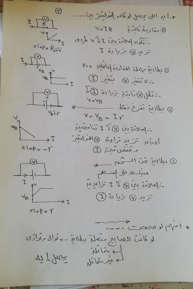 تريكات مهمة للحصول على الدرجة النهائية في امتحان الفيزياء للثانوية العامة 2021 3