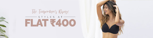 Zivame Offer Buy Lingerie at Rs.400 Upto 70% Off