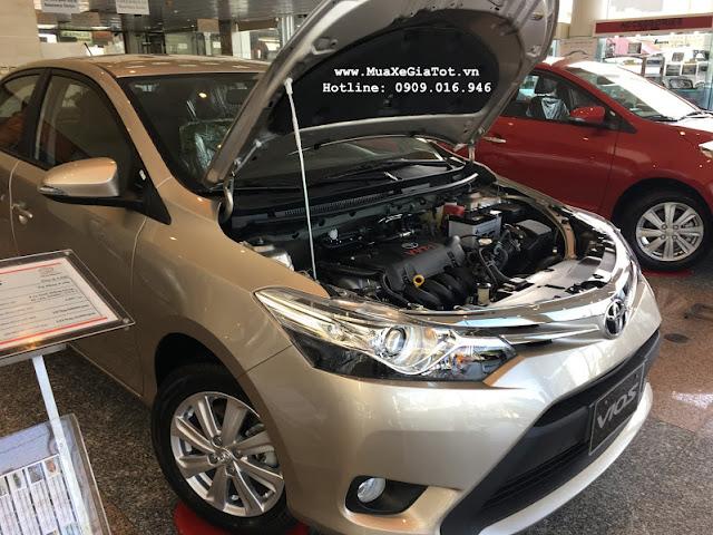 gia xe toyota vios 25 - So sánh Chevrolet Aveo và Toyota Vios tại Việt Nam - Muaxegiatot.vn