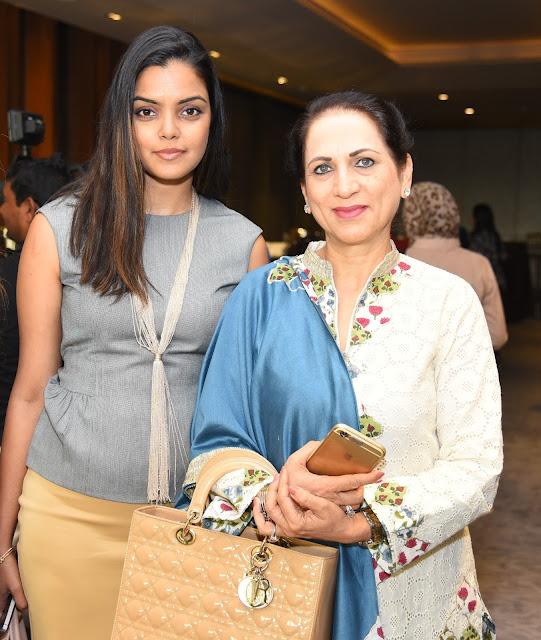 Padma Swarup with Dolly Kochchar