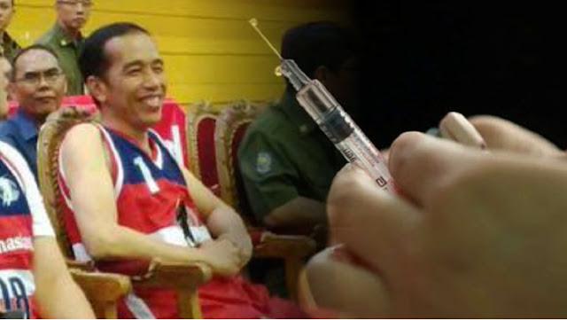 Haris Rusly Moti Usul Vaksin dari China Diujicobakan Dulu ke Presiden Jokowi dan Menterinya