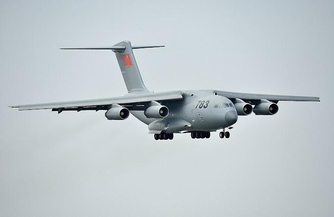 """Εικόνα αποδεικνύει ότι οι Κινέζοι αναπτύσσουν και έκδοση """"τάνκερ"""" για το εθνικό στρατηγικό μεταφορικό αεροσκάφος Xi'an Υ-20"""