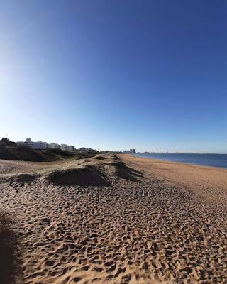 Playas de Punta del Este en Uruguay