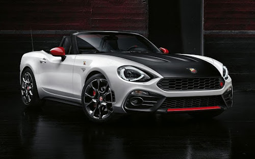 New 2017 Abarth 124 spider