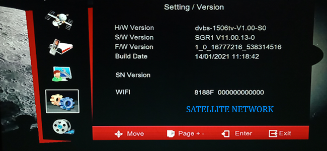 1506TV 4M BUILT IN WIFI RECEIVER NEW SOFTWARE UPDATE 30 MARCH 2021