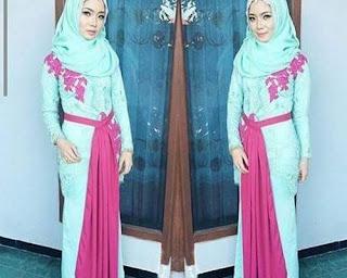 model baju kebaya modern untuk hijab