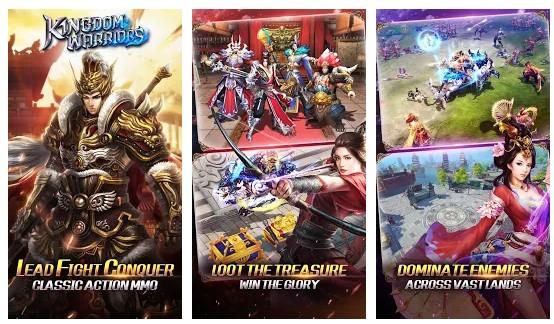 game perang kerajaan Kingdom Warriors