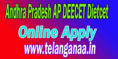 Andhra Pradesh DEECET Online Apply  Online Application Form Hall Tickets Results
