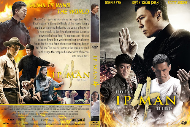 Ip Man 4: The Finale DVD Cover