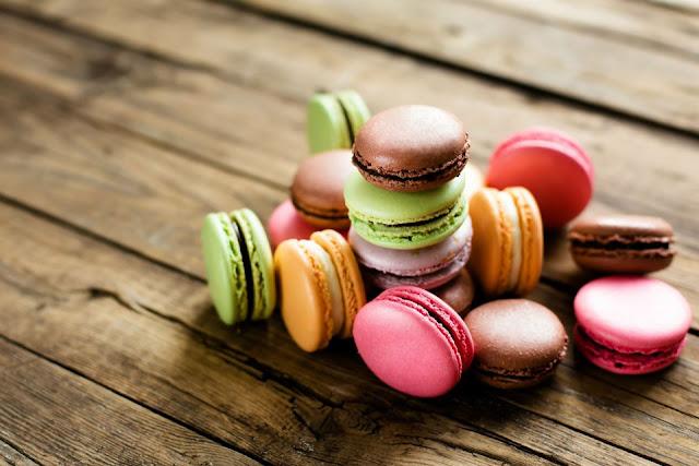 Bánh Macaron, Pháp
