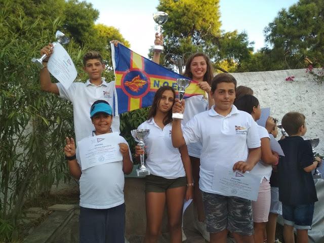 Επιτυχίες του Ναυτικού Ομίλου Ερμιόνης στο κύπελλο Αρμάτας 2019
