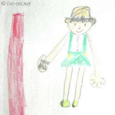 幼稚園年中さんの絵日記,Picture diary of a kindergarten child,幼儿二年级的图画日记