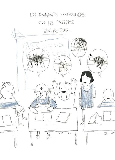 """page """"Un enfant comme ça"""" de Antoine Bréda chez La Boîte à bulles"""