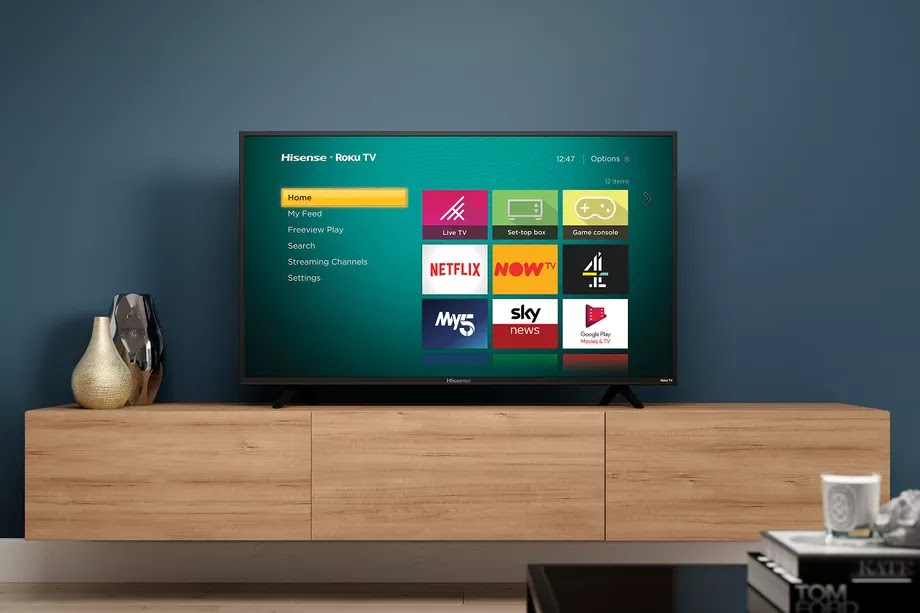 Hisense UK to release its first TVs powered by Roku