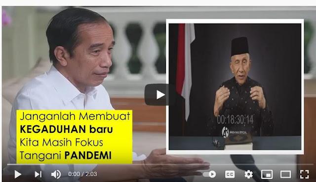 Mewaspadai Provokasi Amien Rais Mendiskreditkan Presiden Jokowi