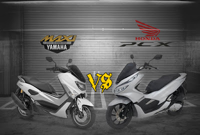 Honda PCX vs Yamaha NMAX 2018 Mana Yang Terbaik?