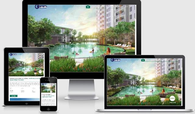Mẫu bất động sản dự án Real estate đẹp 2019