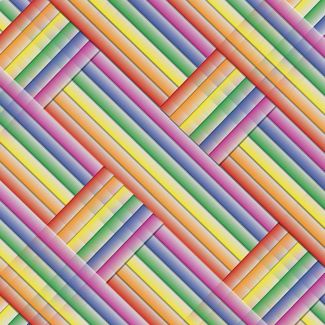 Gay Pride - Rainbow Weave of Pride