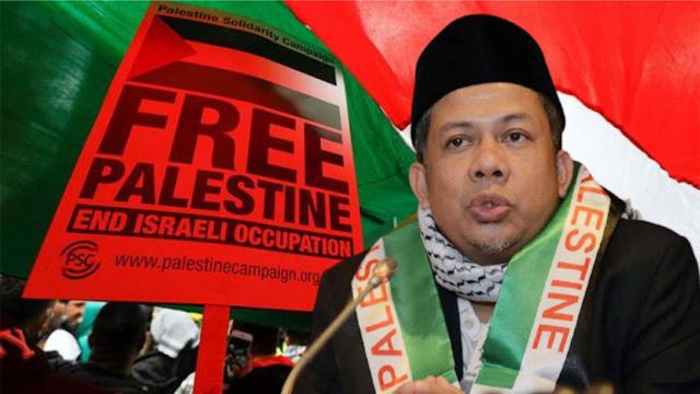 Ada WNI Tak Dukung Palestina, Fahri Hamzah: Mungkin KK-nya Masih Cetakan Kolonial