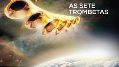 A SÉTIMA TROMBETA. Ela deu à luz um filho, um homem, que governará todas as nações com cetro de ferro. Seu filho foi arrebatado para junto de Deus e de seu trono. Apocalipse 11:15-19 Apocalipse 12:1-5  A sétima trombeta apocalíptica nos leva ao clímax de toda a história mundial, i isso acontecerá mais rápido do que se imagina. Estes juízos de Deus serão devastadores e terríveis. A sétima trombeta não será ouvida só por um dia, mas por um periudo de tempo. Mas, nos dias em que o sétimo anjo estiver para tocar sua