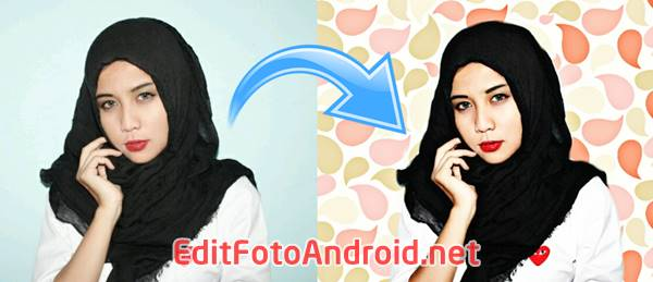 Cara Edit Background Foto di PicsArt Ganti Warna Latar Ala Awkarin