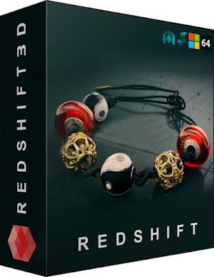 بلجن Redshift 2.6.41 للبرامج مايا، ثريدي ماكس، سينما فوردي وهوديني