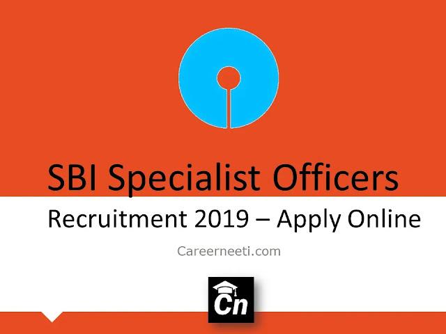 SBI Specialist Officers Recruitment 2019- Apply Online, SBI Logo, Careerneeti.com, Careerneeti Logo