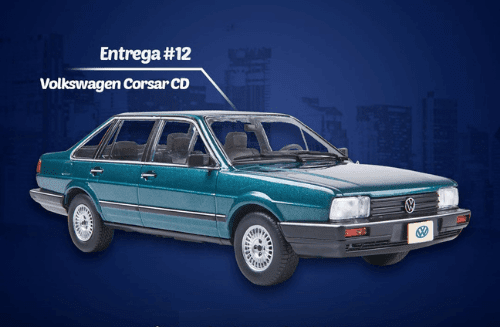 volkswagen corsar cd autos inolvidables 1:24 salvat mexico