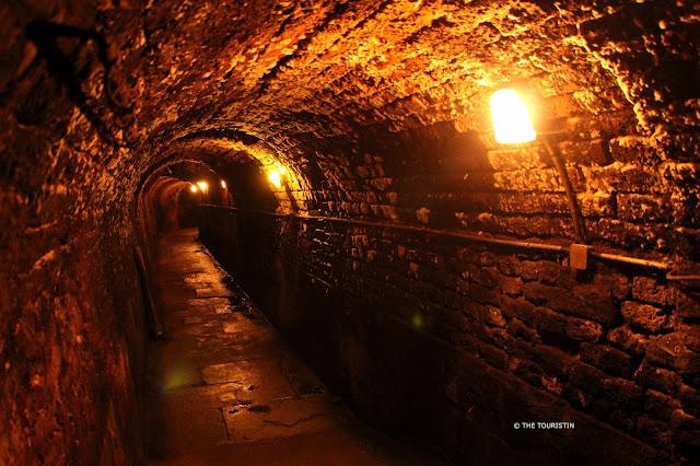 Strasbourg Historic Wine Cellar below the Hospital