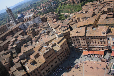 Duomo and Piazza del Campo in Siena
