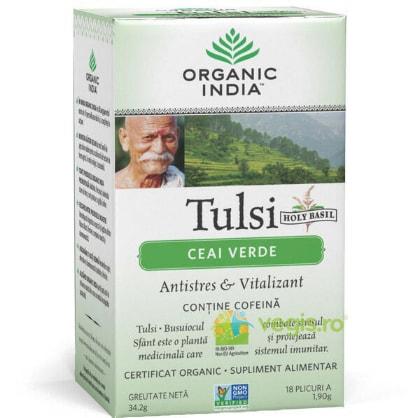 Ceai Verde Tulsi Eco/Bio 18pl ORGANIC INDIA