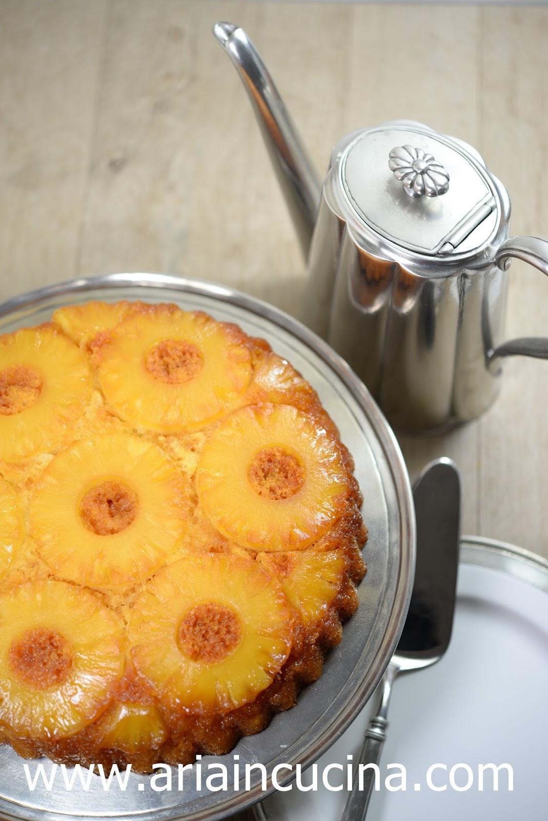 Blog di cucina di aria torta rovesciata all 39 ananas - La cucina di aria ...