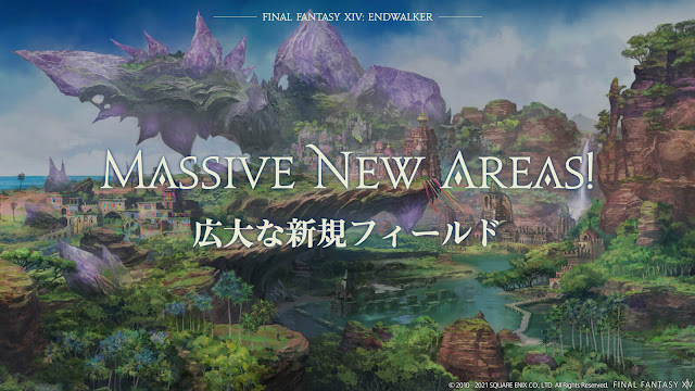 final fantasy 14 endwalker dlc expansion expansive new areas garlemald thavnair radz-at-han ff14 massively multiplayer online role-playing game square enix pc mac ps4 ps5