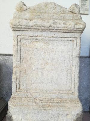 Il cippo di Quinto Cecilio di Calacte