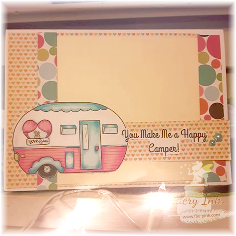 You Make Me A Happy Camper - A Simple Card Featuring Love Rides from Patreon